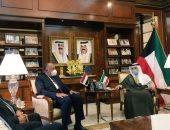وزير الخارجية يبحث مع نظيره الكويتى أوجه العلاقات الوطيدة بين البلدين