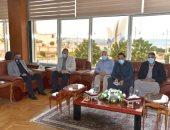 مواطنان يتبرعان بأرض ألف متر لإقامة سكن إدارى لأطباء مستشفى الضبعة