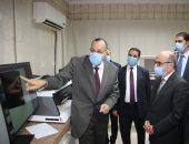 وزير العدل يتفقد توسعة ثلاجات الموتى وتطوير المعامل بمصلحة الطب الشرعى ..صور