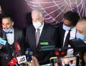 سميحة أيوب وحنان مطاوع وبيومى فؤاد فى افتتاح مهرجان شرم الشيخ للمسرح الشبابى