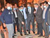 محافظ الغربية يتفقد مشروع تطوير العشوائيات بمنطقة قحافة فى طنطا
