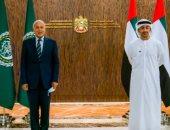 فيديو وصور.. وزير خارجية الإمارات يبحث مع أبوالغيط القضايا المشتركة