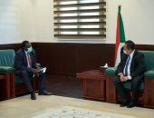 رئيس وزراء السودان يلتقى رئيس اللجنة الدولية لحماية الآثار