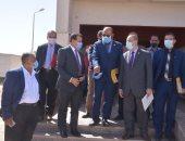 وفد وزارة التخطيط يواصل زياراته الميدانية بالمحافظات لمتابعة الموقف التنفيذي للمشروعات