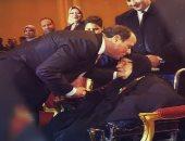 فيديو.. الرئيس السيسي يوجه تحية عسكرية لشعب مصر