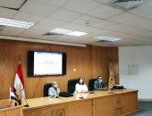 جامعة حلوان تنظم ورشة عمل حول إدارة المشروعات البحثية الممولة لدعم التنمية