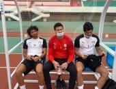 محمد الننى يهنئ لاعبي وجهاز المنتخب بعد الفوز على توجو: مبروك يا رجالة