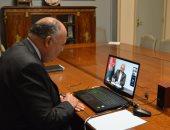 وزير الخارجية يبحث مع نظيره الأفغانى تطورات مفاوضات السلام الأفغانية