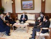 محافظ بورسعيد يستقبل سفير إيطاليا لتطوير البيت الإيطالى