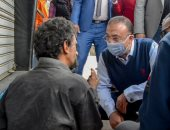 محافظ الإسكندرية يوجه بتحويل شخص بلا مأوى إلى المستشفى لتلقى العناية الطبية