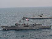 القوات البحرية المصرية والفرنسية تنفذان تدريبا عابرا بنطاق الأسطول الشمالى