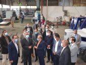 محافظ الإسماعيلية يتفقد مصنع المولدات الكهربائية بتكلفة 150 مليون جنيه.. صور
