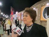 """سميحة أيوب لـ""""تليفزيون اليوم السابع"""": رسالة المسرح تنويرية مش ضحك على الفاضى"""