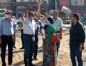 رئيس مدينة المحلة يتابع نسبة تنفيذ مشروعات الرصف والبنية التحتية بالمدينة