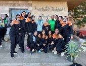 جامعة عين شمس تشارك بوفد طلابى بالدورة الرابعة لأوليمبياد الفتاة الجامعية