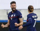 فرنسا تتأهل لنصف نهائى دورى الأمم الأوروبية برباعية ضد السويد.. فيديو