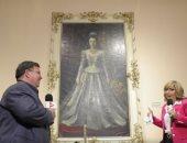 لميس الحديدى تكشف شبكة الأميرة فوزية.. وتستعرض لوحة نادرة لزوجة الخديوى إسماعيل