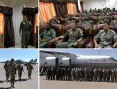 """استمرار فعاليات التدريب الجوى المشترك المصرى السودانى """"نسور النيل - 1"""""""