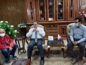 محافظ شمال سيناء يكشف كيف ساهم الهلال الأحمر واليونيسيف فى دعم التعليم والصحة