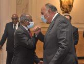 شكرى يبحث تطورات القرن الأفريقى مع وزير خارجية إريتريا والمستشار السياسي للرئيس
