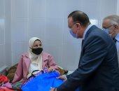 محافظ الإسكندرية يزور مستشفى الطلبة لتفقد الإجراءات الاحترازية والخدمات