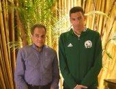 سفير مصر بمدغشقر يحتفل بـجهاد جريشة ومعاونيه بعد مباراة كوت ديفوار