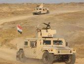 قوة مشتركة من الجيش العراقى والحشد الشعبي تنفيذ عملية استباقية في تلال حمرين