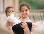 أميرات محمد صلاح.. مكة تحمل كيان فى جلسة تصوير تخطف القلوب