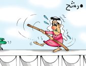 حال مرشحو الانتخابات البرلمانية فى الكويت 2020 بكاريكاتير كويتى