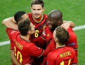 أهداف وملخص مباراة بلجيكا ضد الدنمارك فى دورى الأمم الأوروبية