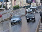 أمطار غزيرة على الإسكندرية ومطروح تمتد للقاهرة والصغرى بالعاصمة 9 درجات