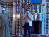 صور.. محافظ الفيوم يفتتح 6 مساجد جديدة