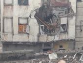 مصرع شاب وإصابة 4 آخرين فى انهيار عقار بمنطقة كرموز بالإسكندرية بسبب الأمطار