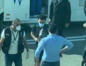 ننشر صور محمد صلاح بمطار الغردقة قبل مغادرته إلى لندن