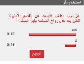81% من القراء يطالبون بتجنب القضايا المثيرة للفتن بعد جدل زواج المسلمة