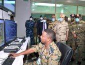 """تنفيذ المرحلة الرئيسية للتدريب المصرى السودانى """"نسور النيل - 1""""بحضور رئيس الأركان"""