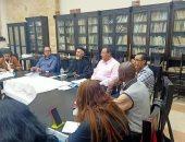 """مجلس """"الليجيو ماريا"""" يعقد اجتماعه بحضور مطران الكاثوليك الشرفى للكاثوليك"""
