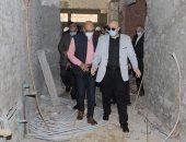 محافظ بنى سويف يوجه بالإسراع فى أعمال تطوير مستشفى الصدر.. صور
