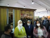 وزيرة التضامن من معرض الأسر المنتجة بالمنيا: ندعم الإنتاج المحلى ونسعى للتصدير