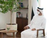 صور.. ولى عهد أبوظبي يبحث مع وزير الخارجية الأمريكي العلاقات الثنائية