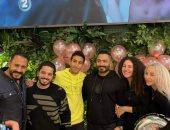 تامر حسنى ومصطفى حجاج يحتفلان بعيد ميلاد ابنة هانى محروس.. صور