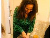 هند صبرى تحتفل بعيد ميلادها وتوجه رسالة لجمهورها.. صورة