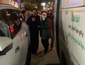 فريق من تضامن الجيزة يتوجه لمقر إقامة سيدة المطر لبحث كيفية تقديم المساعدة