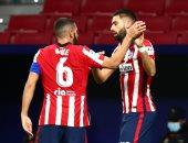 أتلتيكو مدريد يتفوق على برشلونة 1-0 فى شوط مثير بقمة الليجا.. فيديو