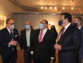 وزير التعليم العالى يتفقد المتحف الفنى بجامعة حلوان.. ويؤكد: إضافة قوية للمتاحف