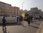 إصابة 12 شخصا فى حادث انقلاب أتوبيس بالشرقية