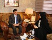 وزير الشباب يبحث التعاون مع الأمين العام للمشروع الوطنى لتحدى القراءة