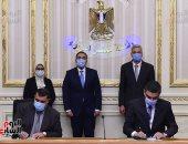 """رئيس الوزراء يشهد توقيع بروتوكول تعاون لتنظيم شراء """"الصحة"""" الأجهزة والأدوية"""