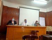 صحة القليوبية تعقد اجتماعا بمديرى الرعايات لمواجهة الموجة الثانية لكورونا