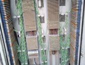 المصرية للاتصالات تصلح كابينة تليفون متهالكة بحوض عبيدو بالخصوص فى القليوبية